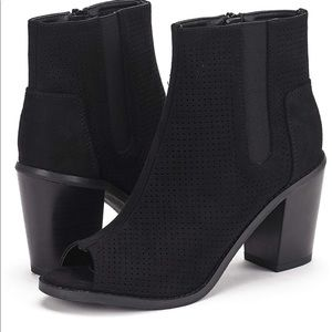 Shoes - Size 11 peep toe booties